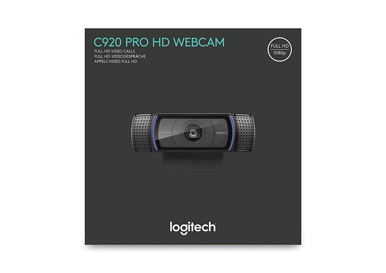 Logitech C920 HD Pro - Cámara Web Full HD