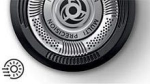 Philips Serie 5000 S5110-06 - Afeitadora eléctrica para hombre rotativa, perfilador patillas